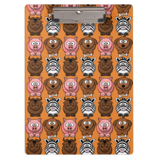 Customize Cute Child Animals Clipboard fro Kids
