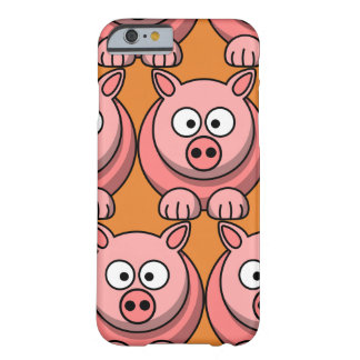 Customize Cute Pig for Kids Barely There iPhone 6 Case