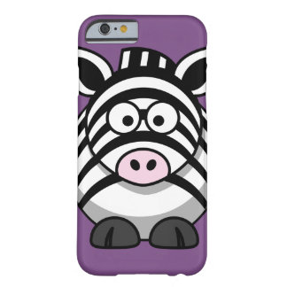 Customize Cute Zebra Barely There iPhone 6 Case