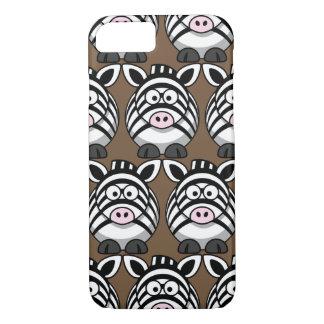 Customize Cute Zebra iPhone 8/7 Case