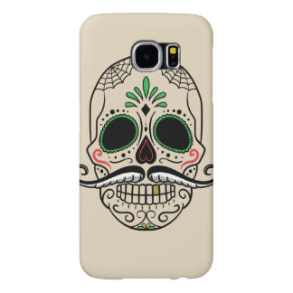 Customize Day of the dead skull Samsung Galaxy S6 Cases