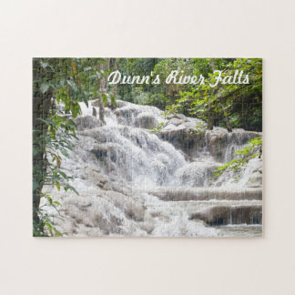 Customize Dunn's River Falls photo Jigsaw Puzzle