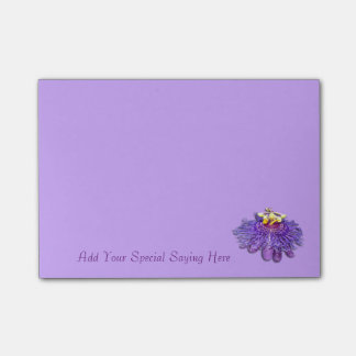 Customize Exotic Purple Passion Flower Notepad