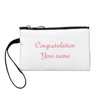 Customize Funny Graduation gift Bag Accessories Coin Wallets