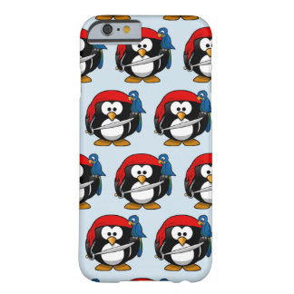 Customize Funny Pirate Pinguin Barely There iPhone 6 Case