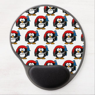 Customize Funny Pirate Pinguin Gel Mouse Mat