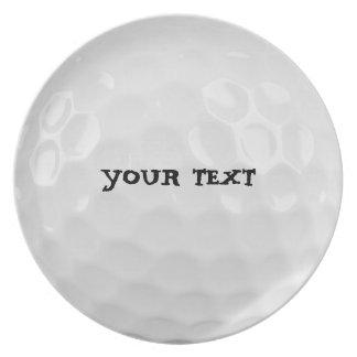 Customize Golf Ball Plate