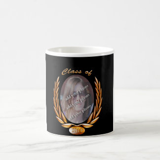 Customize Graduating Class of Photo Frame Coffee Mugs