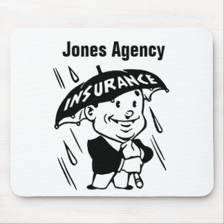 Customize Insurance Agent or Agency Mouse Mat