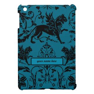 Customize it - Blue Griffin Art Deco Pretty ipad iPad Mini Cases