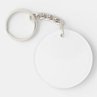 Customize It! Double-Sided Round Acrylic Key Ring