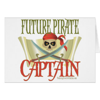 CUSTOMIZE IT! Future Pirate Greeting Card