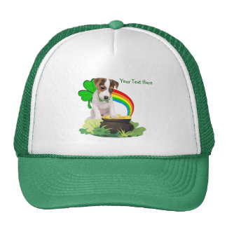 Customize It! Jack Russell St. Patricks Day Design Cap