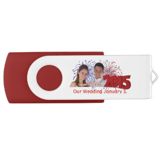 Customize It! Our Wedding Memories USB Flash Drive