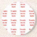 Customize it - Personalize com sua imagem Coaster