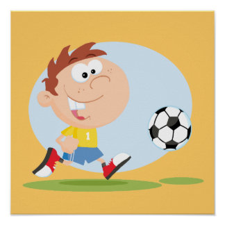 Customize It Soccer Boy T shirts and Gifts Posters