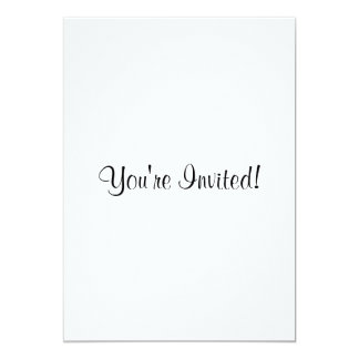 Customize It! Solid Pattern Base 13 Cm X 18 Cm Invitation Card