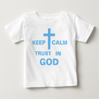 Customize Keep Calm Christian Shirts for Baby Boy