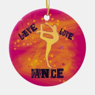 Customize LiveLove Dance Dancer Christmas Ornament