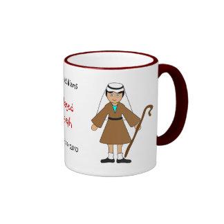 """Customize Me -- Children's Nativity """"Joseph"""" Ringer Mug"""