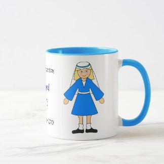 "Customize Me -- Children's Nativity ""Mary"" Mug"