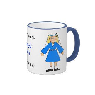 "Customize Me -- Children's Nativity ""Mary"" Ringer Mug"