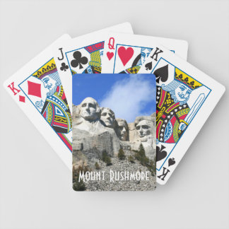 Customize Mount Rushmore National Memorial photo Card Deck