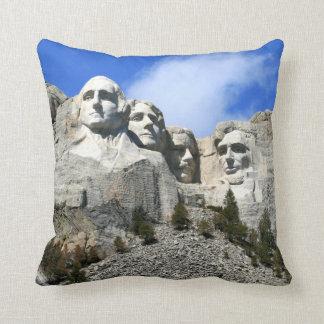 Customize Mount Rushmore National Memorial photo Throw Cushions