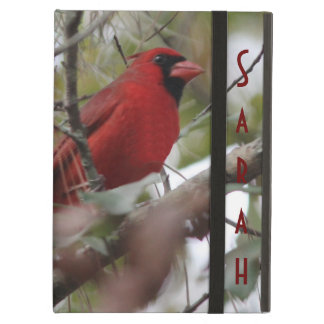 Customize Nice Cardinal photo Case For iPad Air