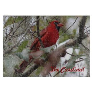 Customize Nice Cardinal photo Cutting Board