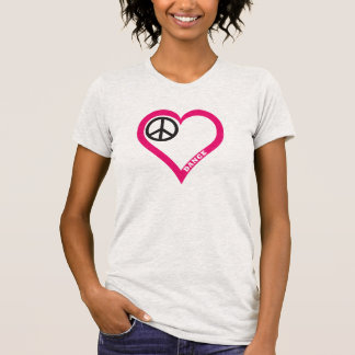 Customize Peace Love Dance Girls Shirts Hoodies
