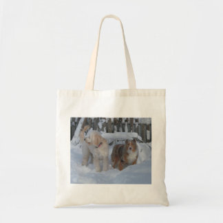 customize pet pic tote budget tote bag