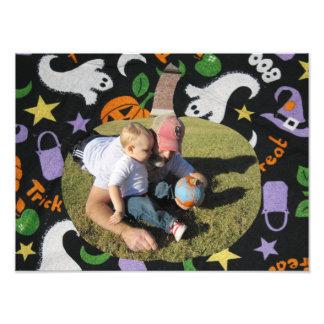 Customize Photo Happy Halloween Pumpkin