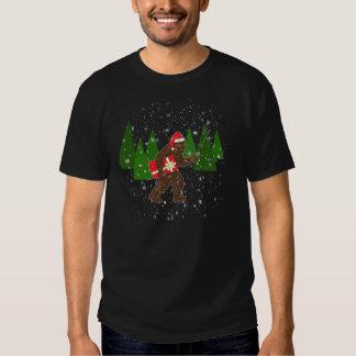 "Customize Product""Christmas with Bigfoot"" Tshirts"