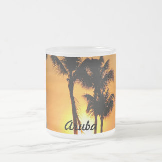 Customize Product Frosted Glass Coffee Mug