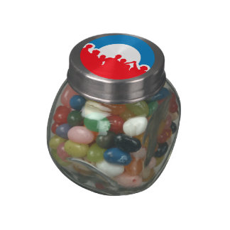 Customize Product Glass Candy Jars