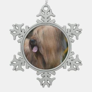 Customize Product Pewter Snowflake Decoration