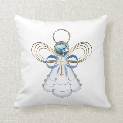 Customize ProductChristmas Angel of Faith Throw Pillow