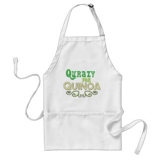 Customize Qurazy for Quinoa © - Funny Quinoa Quote Standard Apron