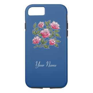 Customize - Rose Classic Blue iPhone 7 Case