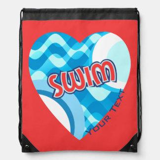 Customize SWIM Water Waves and Heart Rucksacks