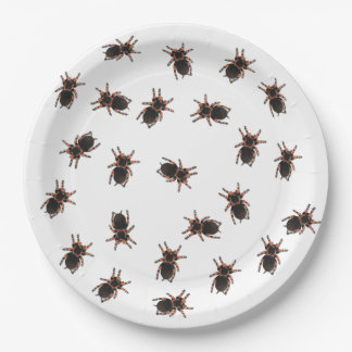 Customize Tarantulas 9 Inch Paper Plate