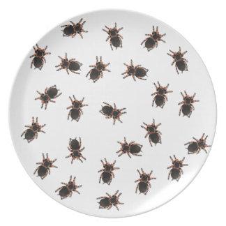 Customize Tarantulas Party Plate