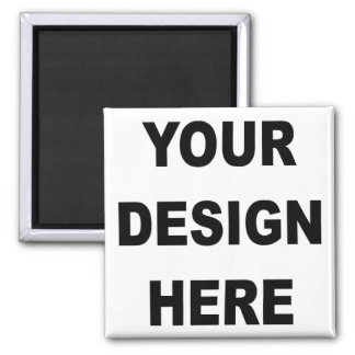 Customize Template Square Magnet