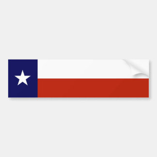 Customize Texas Bumper Sticker