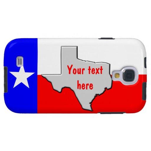 Customize Texas Pride Galaxy S4 Case