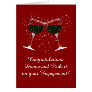 Customize the Cover Congratulations on Engagement Card