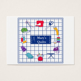 Customize the Label Quilt Time Business Card