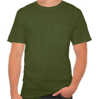 Customize this Army Green Pocket T Tshirts