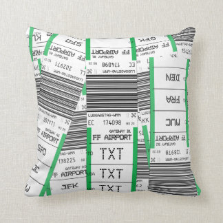 Customize This Baggage Tag Cushion